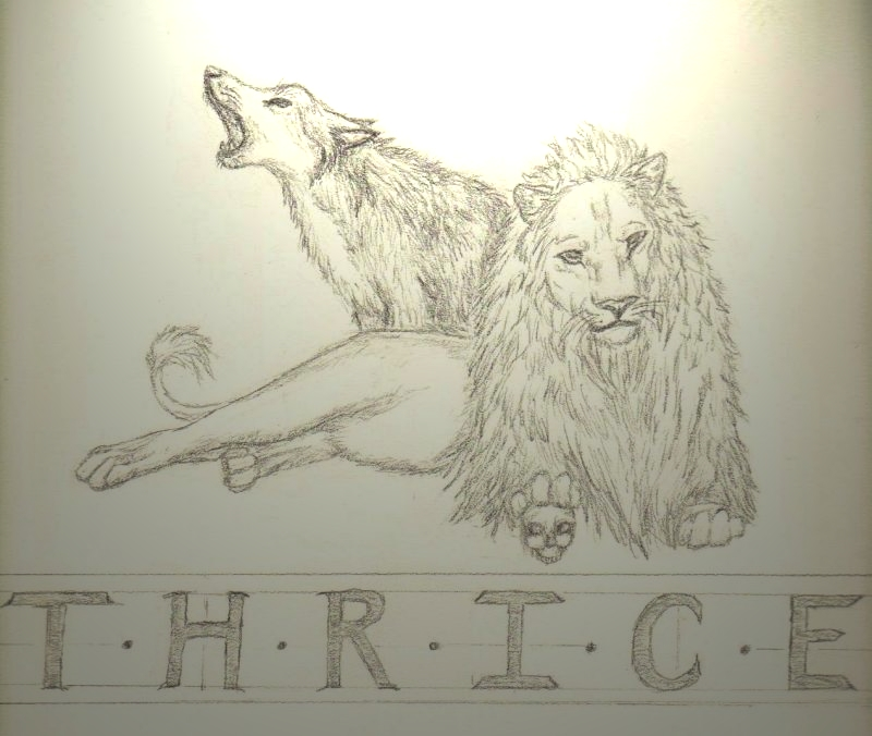 Thrice The Lion And Wolf By Orxlen On DeviantArt