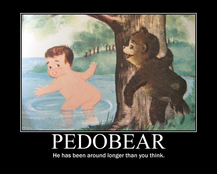 Pedobear motivational poster by orxlen