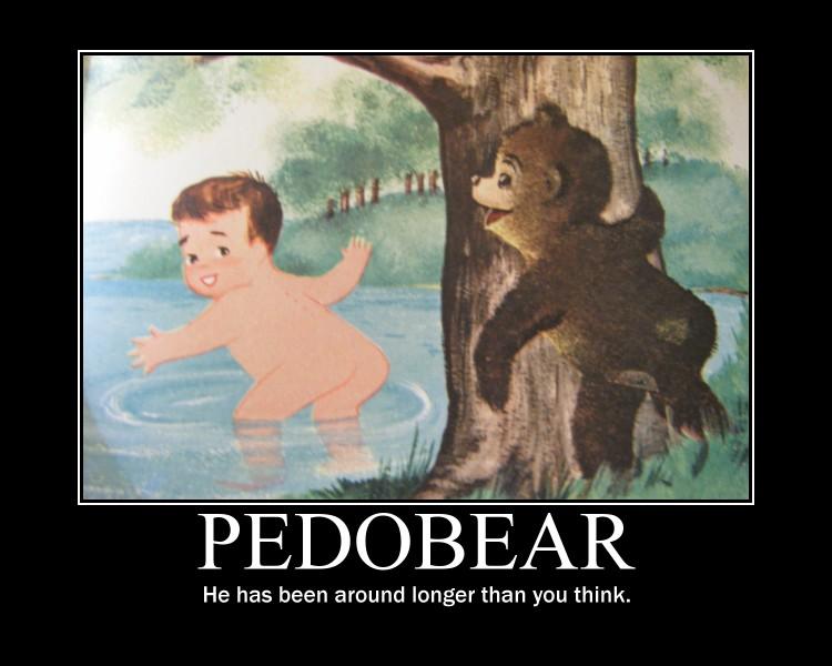 Pedobear motivational poster by orxlen