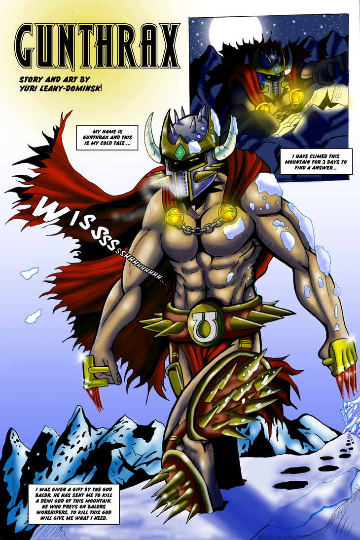 Gunthrax page 1 by crabking
