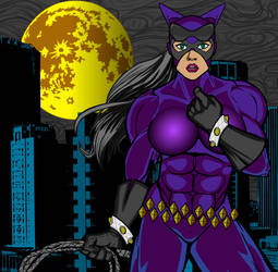 Catwoman Closeup by 1stSurugi