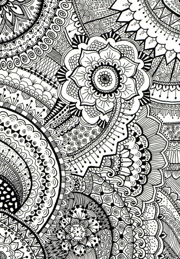 Full Page Mandala By Kirdianis On DeviantArt