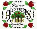Sweet Apple Acres Cider Sign