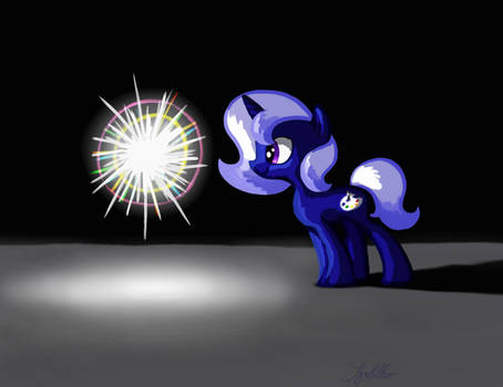 Cobalt Blue and the Mysterious Sparkly Thing by SynCallio