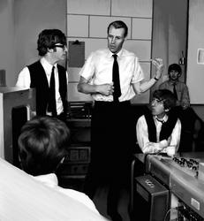 Portrait: George Martin, Beatle Teacher by SynCallio