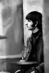 Portrait: Ringo Starr by SynCallio