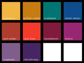 Kells Color Palette