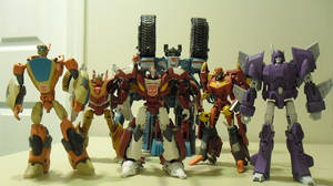 Red Alert and Friends by BlurrzFire