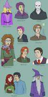 Harry Potter Doodles II