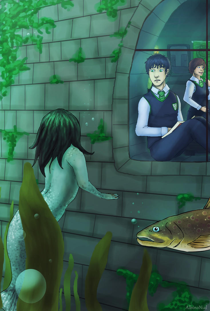Albus Potter And The Siren Of The Lake By Albinonial On