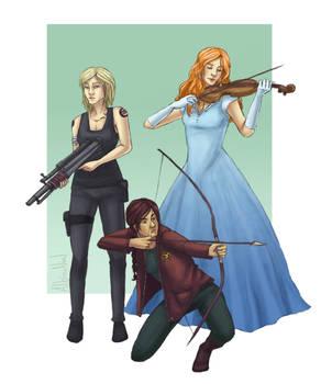 Tris, Katniss and America