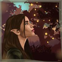 elf portrait by eliveari