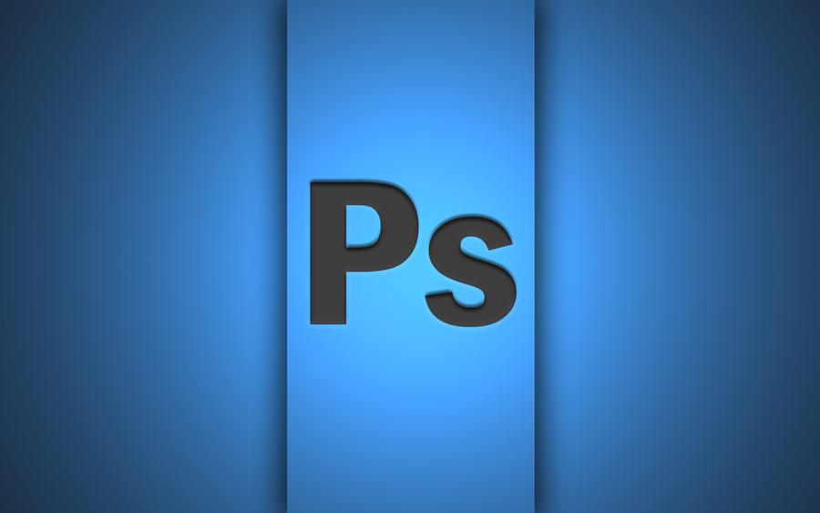Photoshop Logo Wallpaper By Donycorreia