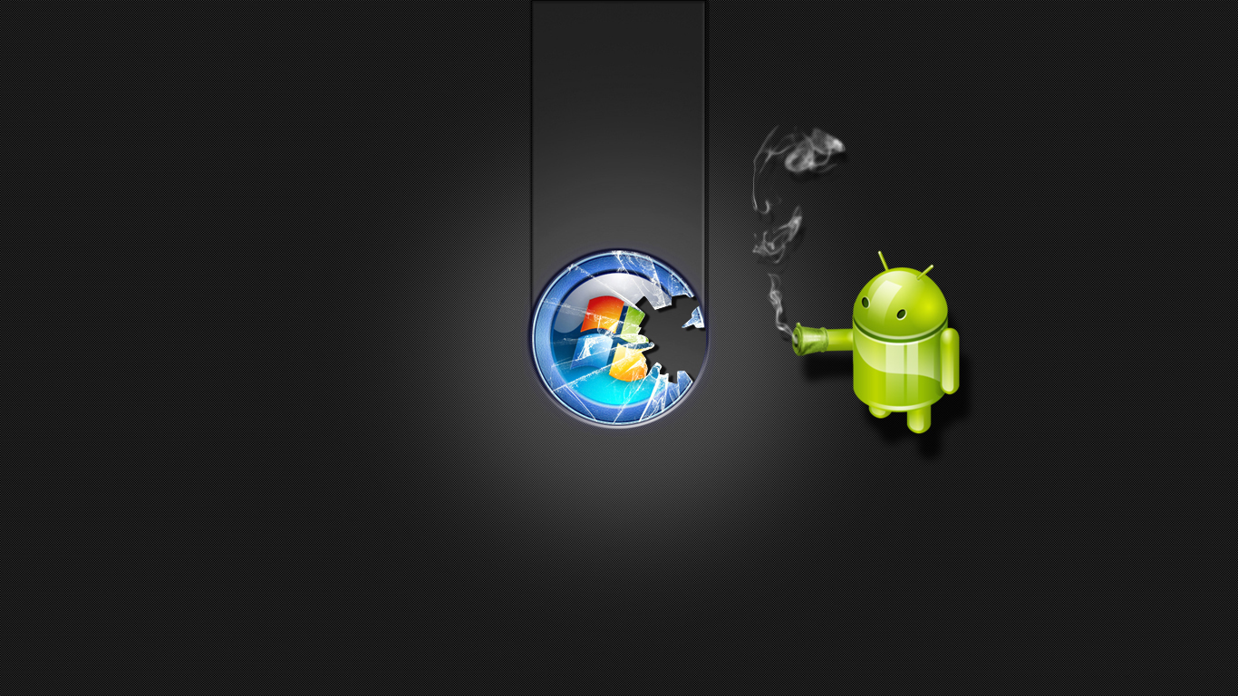 Windows vs android hp in a way is putting microsoft and windows on