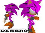 Chaos Hedgehog - Dehero