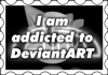 Addicted to DA Stamp by Adreos