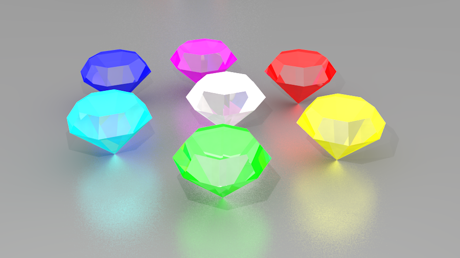 free chaos emeralds
