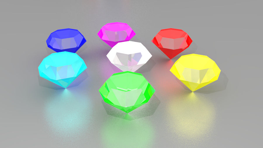 Chaos Emeralds again?