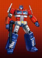 MP10 Optimus Prime by zhuyukun