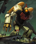 Omega Supreme and Optimus Prime