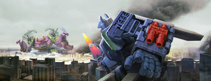 Fortress Maximus vs Scorponok