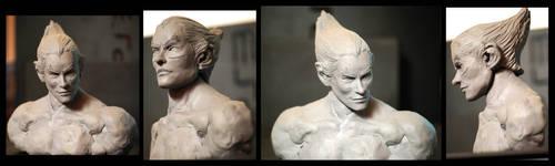 kazuya sculpt! by JUSTINQ88