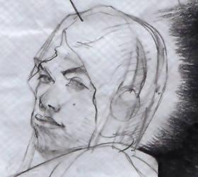 Me in headphones by JUSTINQ88