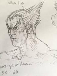 Kazuya mishima - old by JUSTINQ88