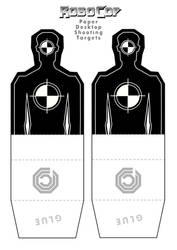 Robocop Desktop Shooting Targets by JUSTINQ88