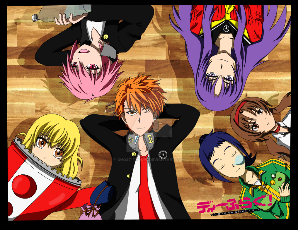 d frag x persona 4 crossover by ghost troupe on deviantart