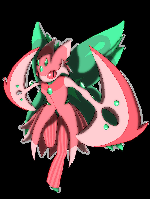 Shiny Lurantis by little-amb   Pokémon Sun and Moon