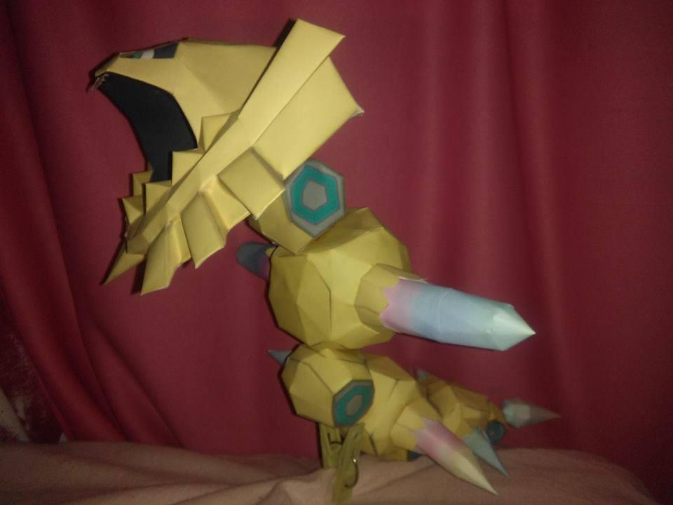 mega steelix papercraft by jorgeescalante