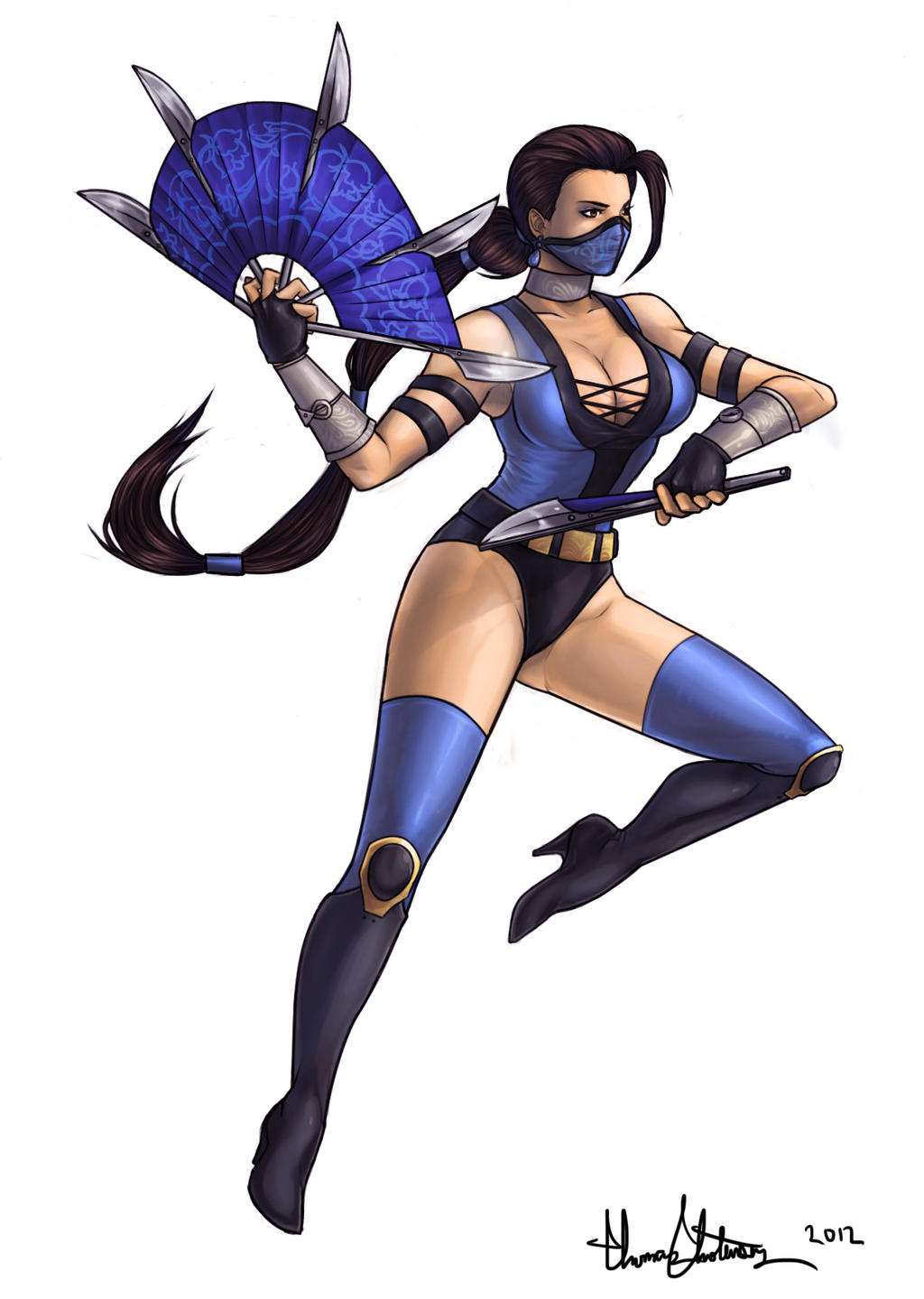 Kitana:  Deadly Alliance by operatingthetan