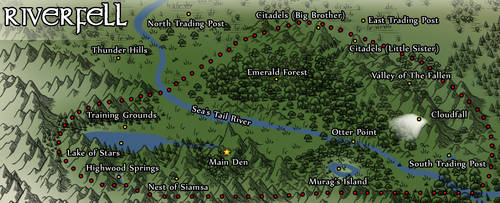 DotW: Riverfell Territory and Landmarks