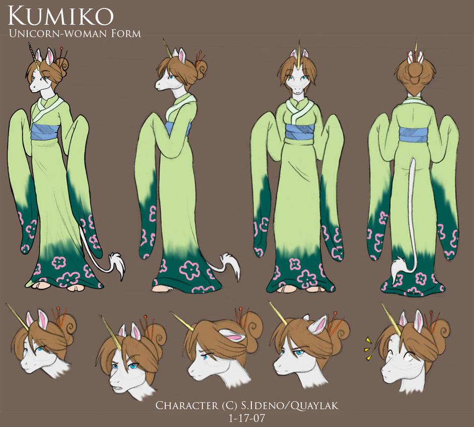 Kumiko Character Sheet By Quaylak On Deviantart