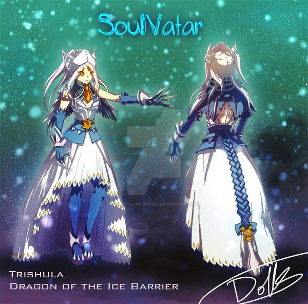 YGO SoulVatar TRishula design Ver 2 by dolls-of-paradox
