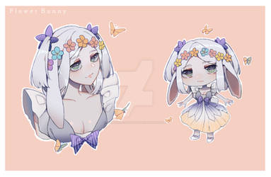 [CLOSED] Flower Bunny (Adopt #16)