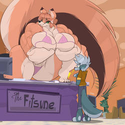 Robin - Fitsune Health Club and Spa by Commoddity