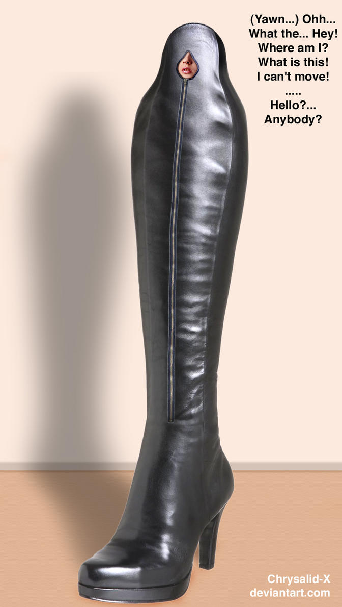 Boot-Cocoon 2 by chrysalid-x on DeviantArt