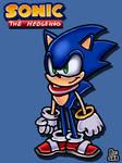 My Sonic the Hedgehog Reboot (Sonic's redesign)