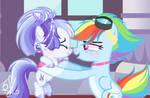 Rainbow Dash and Smoothie