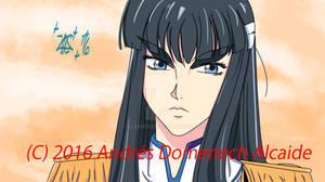 Satsuki Kiryuin Sketch 01