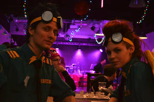 Soarin and Spitfire cosplay by Dixidana