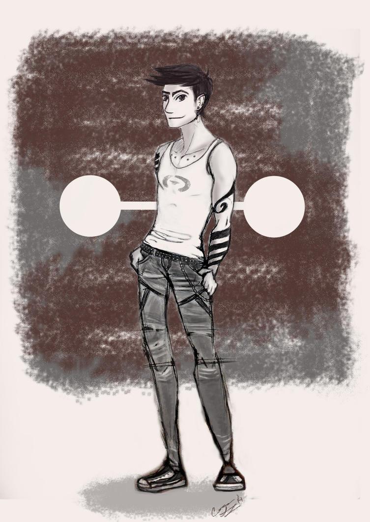 Punk!Tadashi by Autumn-Equinox