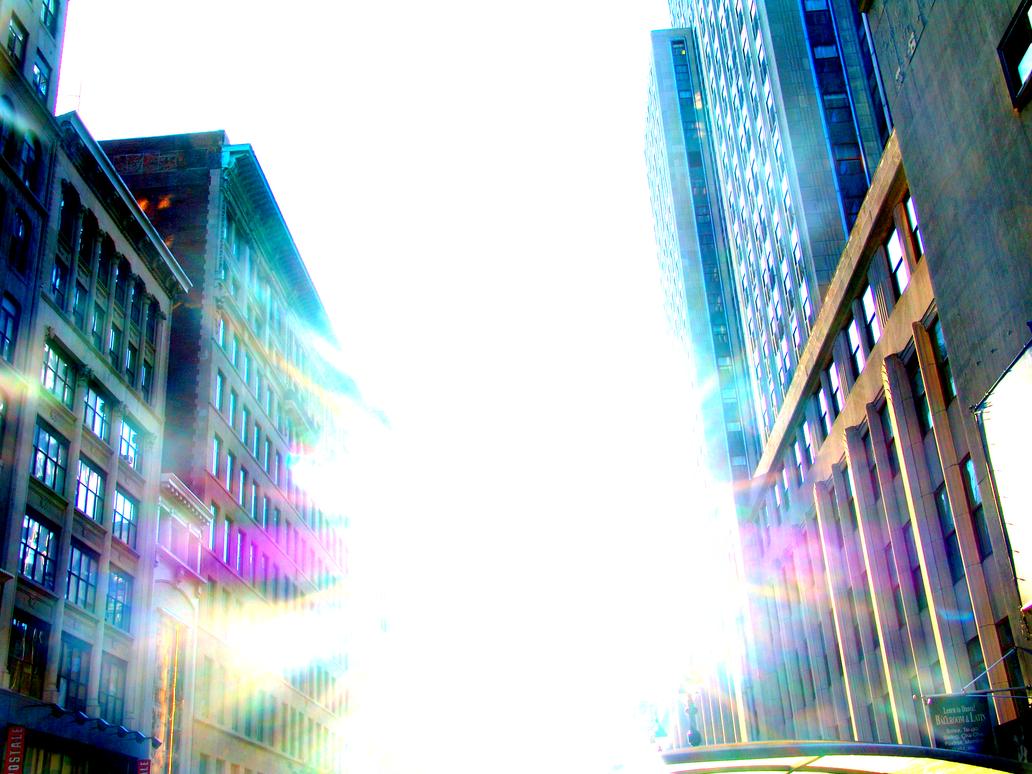 Sunlit Street by NeonXNights