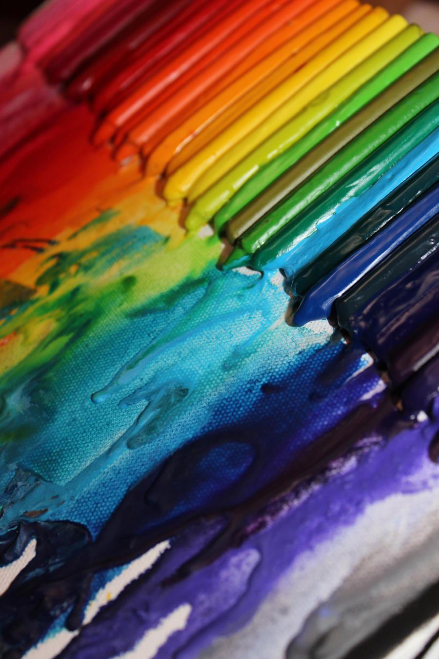 rainbow effect by hylian-dragoness