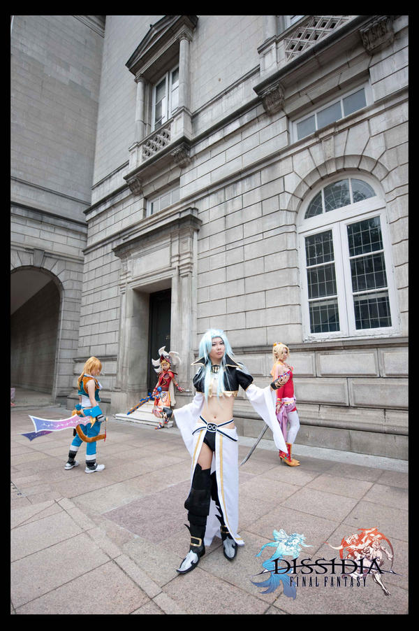 Final Fantasy Dissidia Group by ashteyz