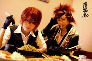 Hakuouki: Contest for Food... by ashteyz