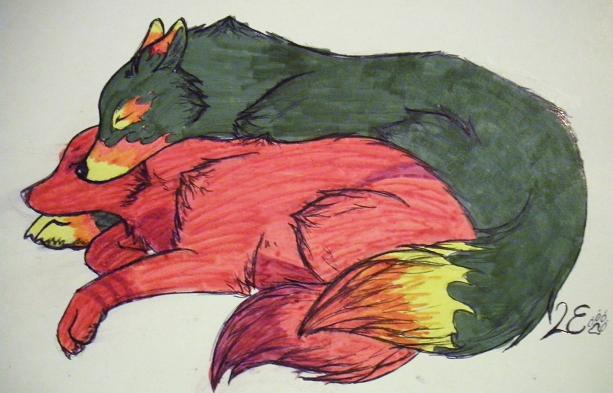 cuddle times by Miu-Misha