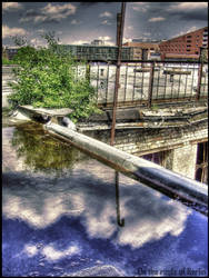 On the roofs of Berlin by entengruetze